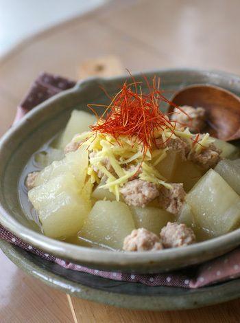 冬瓜と鶏ひき肉の煮物 by お天気ママさん | レシピブログ - 料理ブログ ...