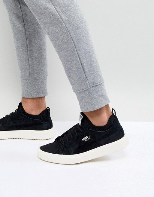 c03657f3879 Puma Breaker Knit Sunfaded Sneakers In Black 36534501
