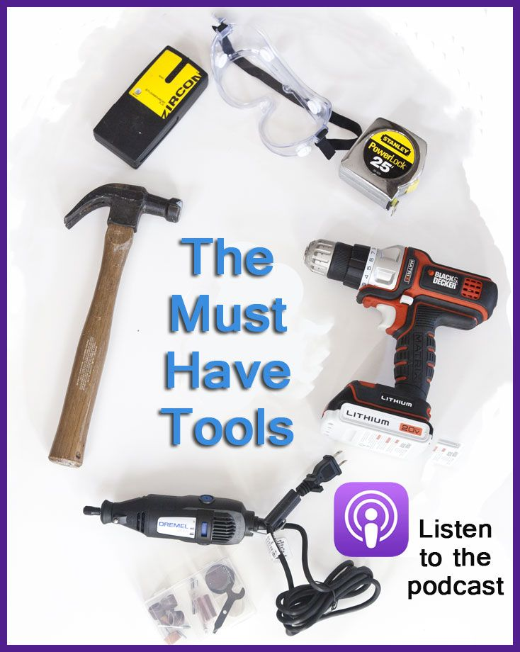 What's in your tool box?  Come see what's in mine | Cedar Hill Farmhouse. | Powertools | Must Have Tools |
