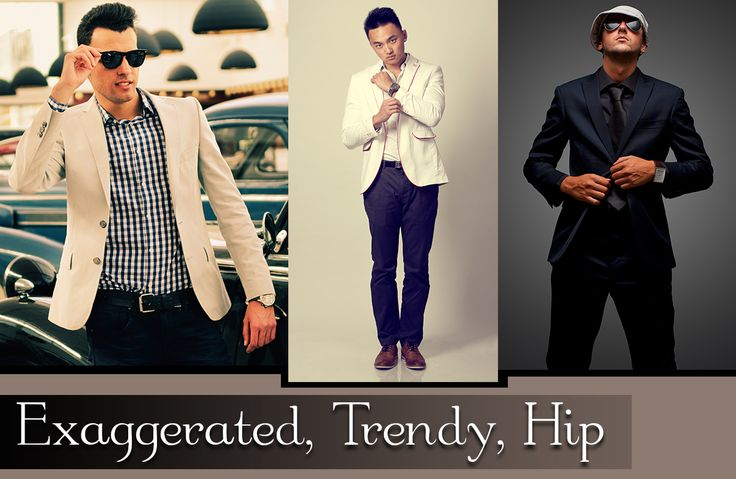 Cocktail Attire for Men - Exaggerated, Trendy, Hip