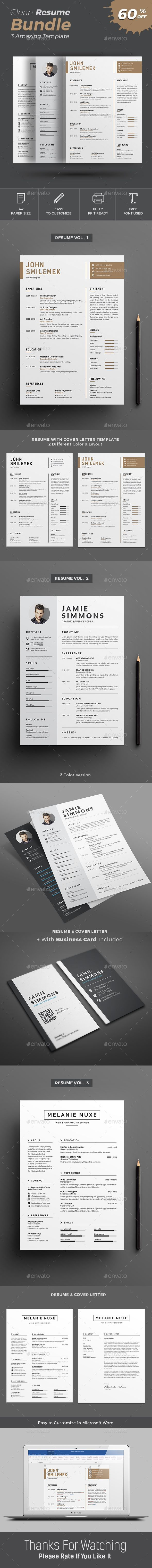 piece Infographic Resume CV Resumes Stationery Brown