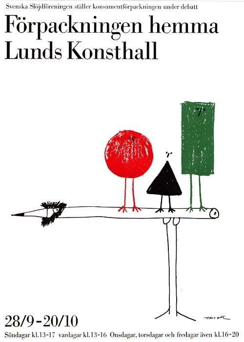 Olle Eksell /(Förpackningen Hemma),1963
