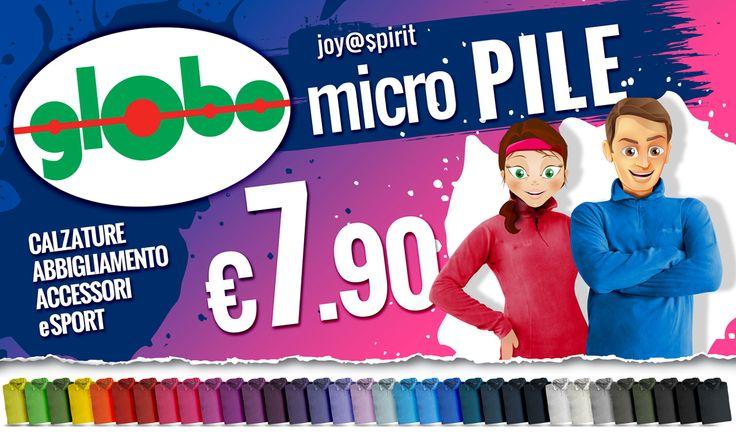 Sono arrivati!!!! I Caldissimi, leggerissimi e coloratissimi MICRO PILE 2014!!! Uomo/Donna a solo €7.90!
