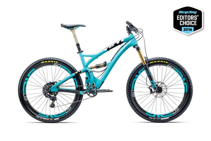 Yeti SB5c X01 http://www.bicycling.com/bikes-gear/recommended/2016-mountain-bike-editors-choice-winners/slide/2