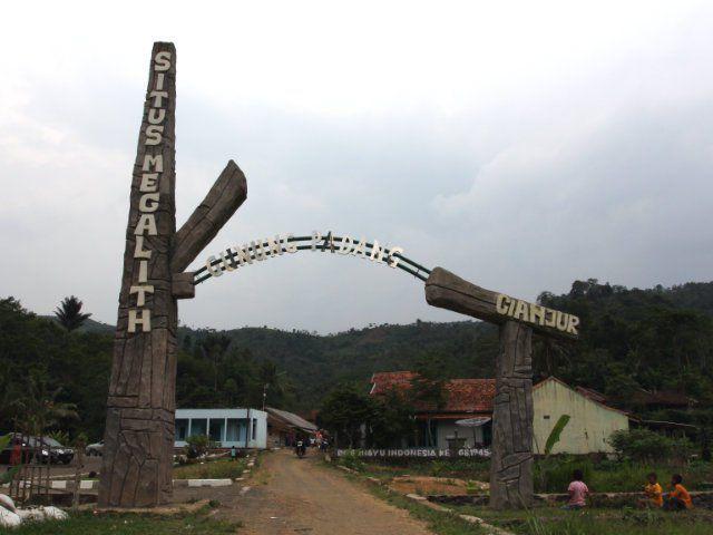 gunung padang entrance