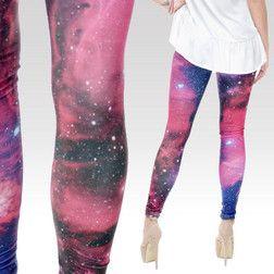 Legíny Galaxy růžové
