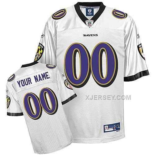 http://www.xjersey.com/baltimore-ravens-men-customized-white-jersey.html BALTIMORE RAVENS MEN CUSTOMIZED WHITE JERSEY Only $75.00 , Free Shipping!