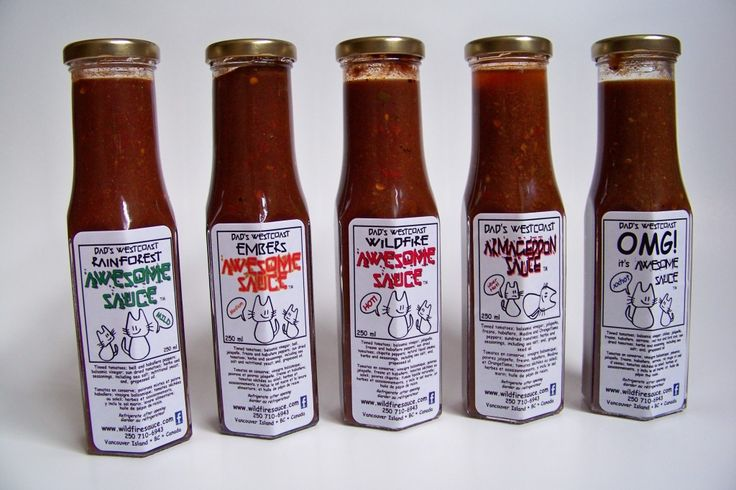 Dad's Westcoast Awesome Sauces