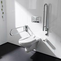 Barra de apoyo de metal / en U / de pared / para cuarto de baño
