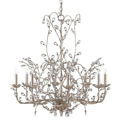 Crystal Bud Large Chandelier