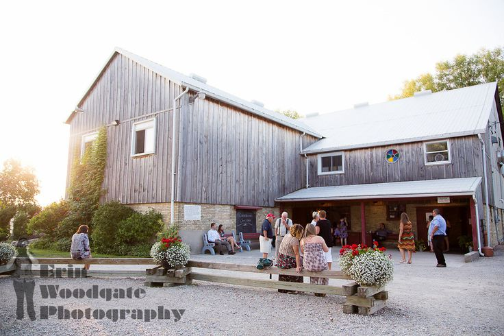Exterior of the Vintage Barn