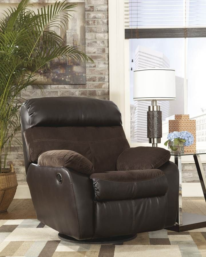 ... Berneen - Coffee Swivel Rocker Recliner at Samu0027s Appliance u0026 Furniture - Your Fort Worth Arlington Dallas Irving Texas Furniture u0026 Mattress Store & 79 best Recliners images on Pinterest | Recliners Rockers and ... islam-shia.org