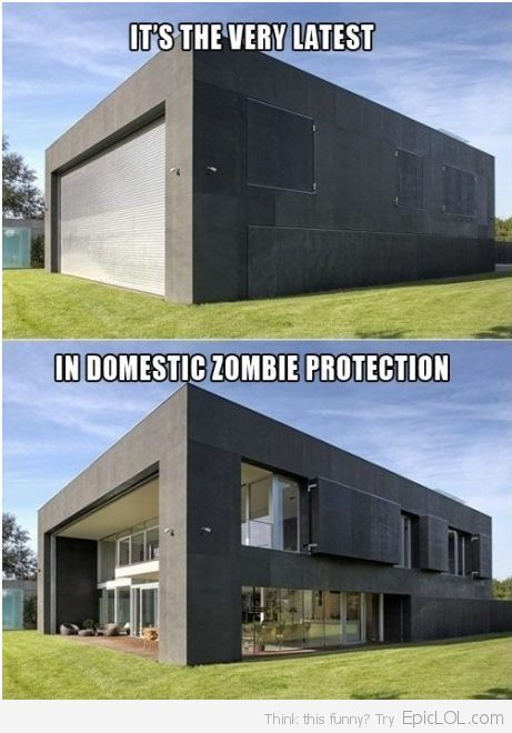 THIS is what we need guys! THEY DIDNT THINK ZOMBIES EXISTED IN THE MOVIES EITHER!!! Then BAM - ZOMBIE APOCALYPSE