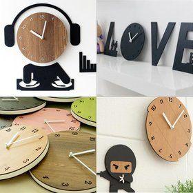 Gmarket - 벽시계 인테리어 양면 무소음 벽걸이 집들이 신혼선물