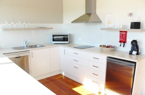 All of our villas have kitchens, including dishwasher, microwave, cook/stove top, fridge and coffee maker with pods.