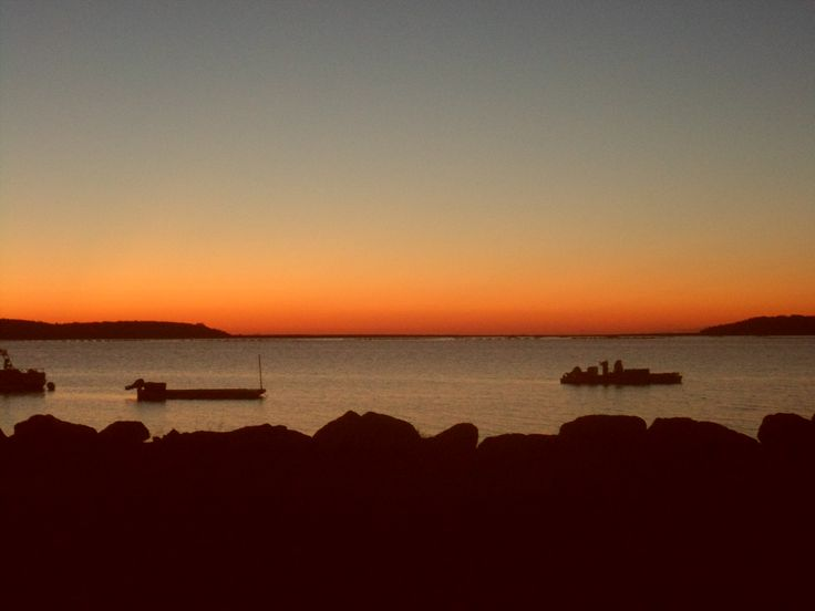 Coucher de soleil au Nouveau-Brunswick