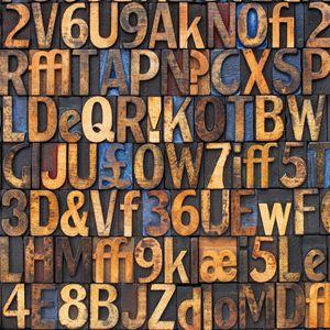 Quadro Alfabeto #lettere #numeri #numbers #letters #alfabeto #alphabet #graphic #madeinitaly #paintings #pictures #pintdecor #graphicollection