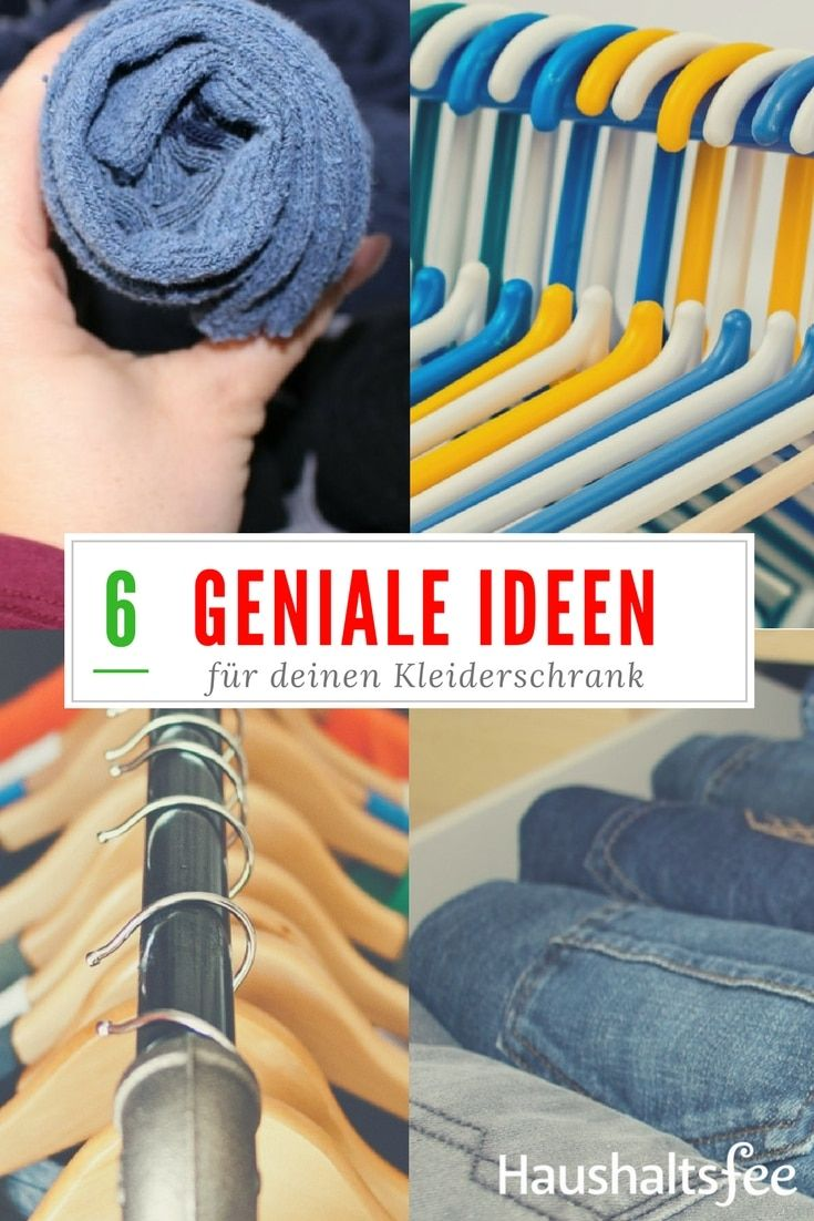 Ordnung im Kleiderschrank 6 geniale Beispiele | Marie kondo ...