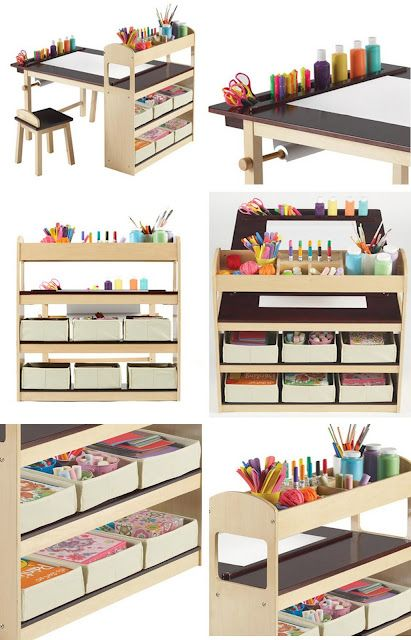 Excellent Arts and Craft Station-Storage for everything you need!