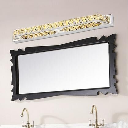 97.99$  Buy here - http://ali7en.shopchina.info/go.php?t=32757913265 - Luxury K9 Crystal LED Bathroom Mirror Light Fashion Wall Lamp Fixtures For Home Lighting Indoor Bedside Lights lampada de led 97.99$ #shopstyle