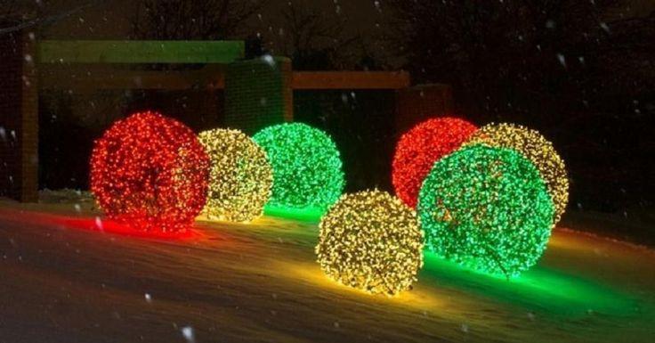 Tous les voisins seront impressionnés par vos décorations!