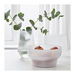 IKEA - IKEA PS 2017, Maljakko, 3 kpl, Näyttävät hyviltä sekä tyhjinä että kukkien kanssa.Käsin tehty. Jokainen maljakko on taidokasta käsityötä.Voidaan pinota sisäkkäin tilan säästämiseksi säilytettäessä.