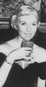This is Ruth Ellis. She murdered her lover, David Blakeney, a racing car driver. She was executed at Holloway (Women's) prison in London. The last woman to be executed in Britain.