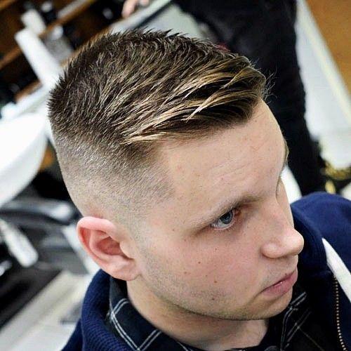 27 Wunderschöne Crew-Frisuren für Männer