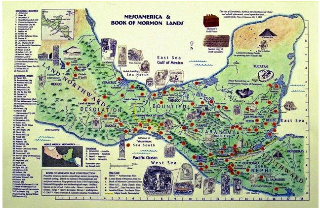 Book of Mormon Map