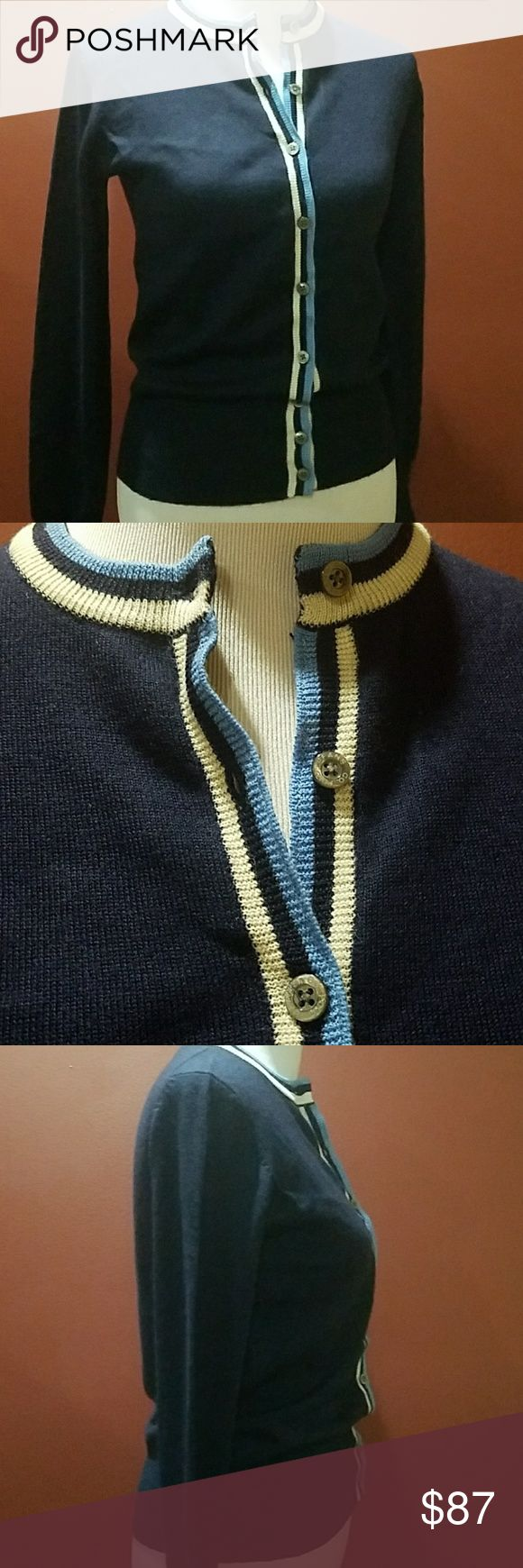 """Polo Jeans Co. 100% wool cardigan Polo Jeans Co. 100% wool cardigan in EUC measures bust 32"""" waist 28"""" sleeves 25"""" with the ability to make a cuffed sleeve to shorten it and is 23"""" total in length. Polo by Ralph Lauren Sweaters Cardigans"""
