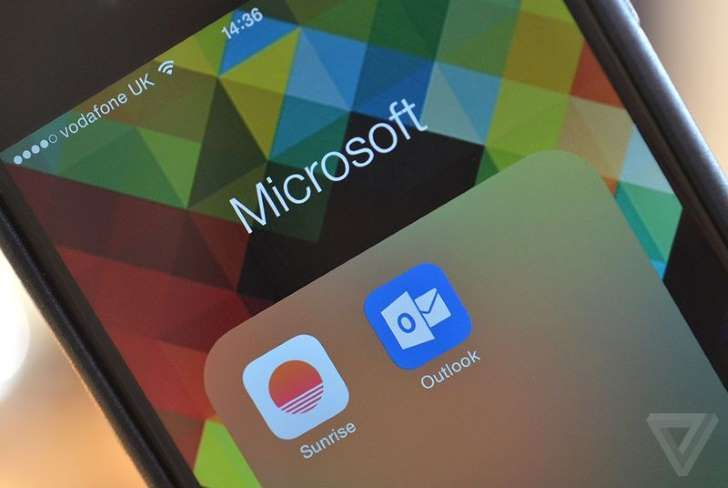 Microsoft has acquired calendar app Sunrise.