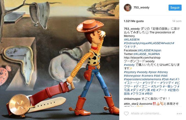Los personajes de Pixar se vuelven instagramers I @753_woody