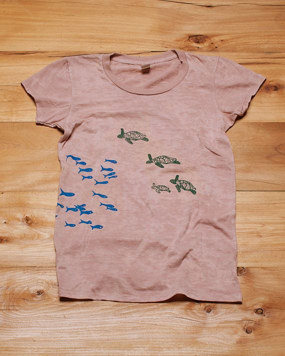 Turtles Shirt SALE Shirt Size Medium or Large by nicandthenewfie, $20.00