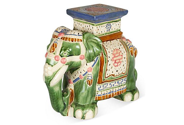 175 best Elephant Garden Stools images on Pinterest | Garden stools ...