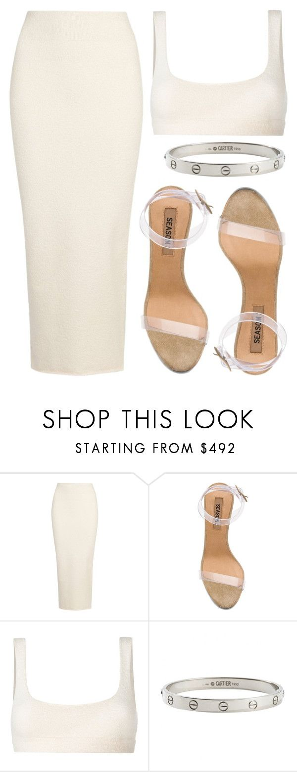 """""""in my yeezy"""" by eddalara ❤ liked on Polyvore featuring Yeezy by Kanye West, adidas, Cartier, StreetStyle, Yeezy and fashionset"""