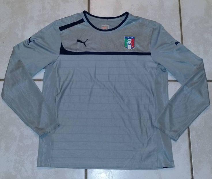 PUMA Italy National Team FIGC Long Sleeve Shirt #jerseys#italy#italia#soccer#football#fifa#worldcup#fifaworldcup#cleats#italian#copa#seriea#instafootball#goalkeeper#footy