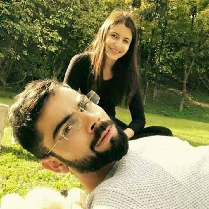 The love birds: Virat Kohli and Anushka Sharma For more cricket fun click: http://ift.tt/2gY9BIZ - http://ift.tt/1ZZ3e4d