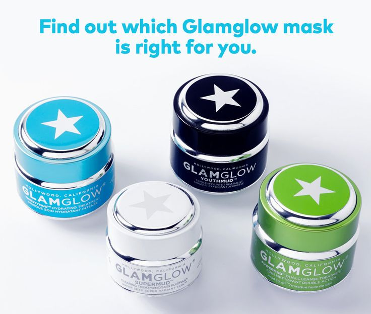Which GlamGlow facial mask is right for you? | My favorite is Super Mud!