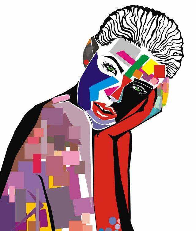 Agness Deyn Illustration