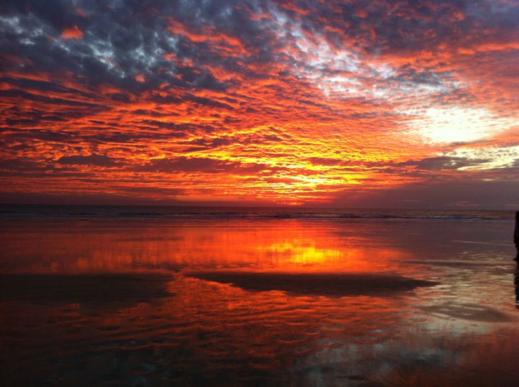 Stunning sunset in Kimberley Coast #AuroraExpeditions
