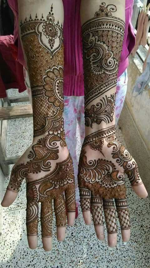 Bridal henna Design                                                                                                                                                     More