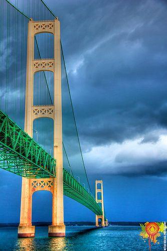 Mackinac Island Bridge, Michigan | Nitesh Divecha