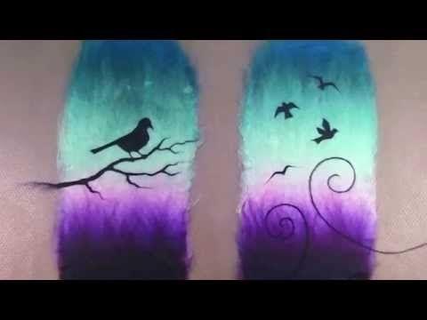 ВАЛЯНИЕ из ШЕРСТИ мастер класс | Felting Wool Tutorial: Slippers - YouTube