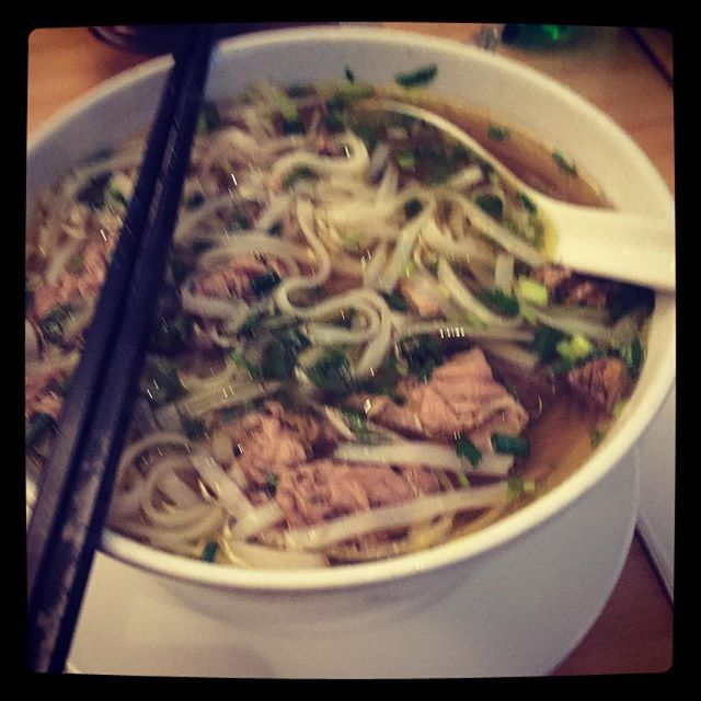 Being a Melbournian in Zurich: Having Pho for dinner at Saigon #melbournian #melbourne #pho #dinner #vietnamese #food #foodie #foodporn #whynot #yummy #zurich #saigon