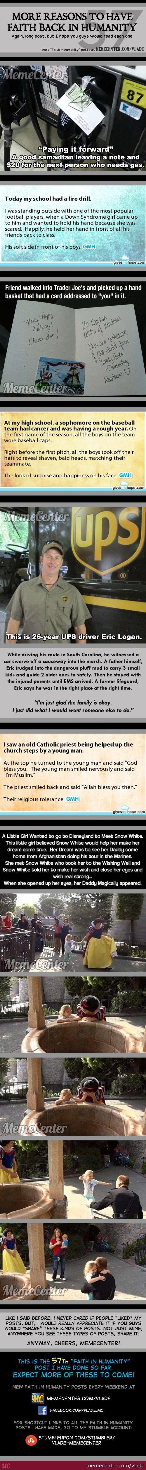 OMG! Faith on humanity restored