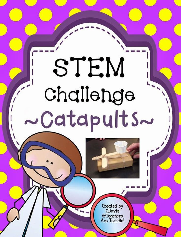 273 best stem activities images on pinterest school teaching awesome stem challenge build a catapult and then try it out with several performance tasks fandeluxe Gallery