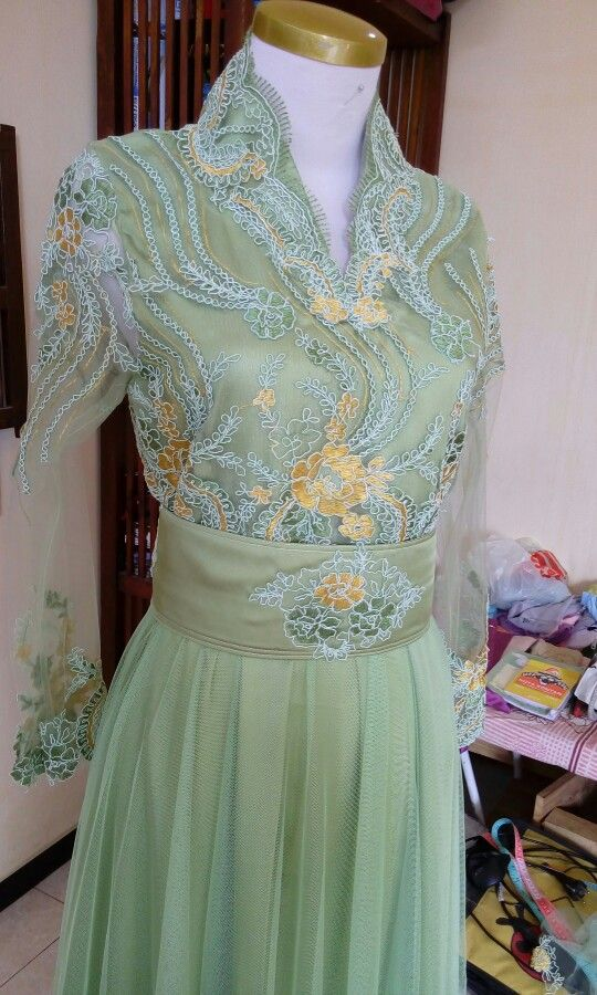 Wonna green @inspirasikebayadress