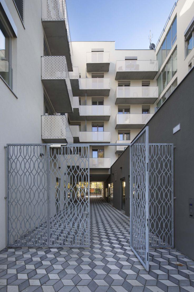 Bytový dom Koněvová, Praha - Žižkov   Archinfo.sk