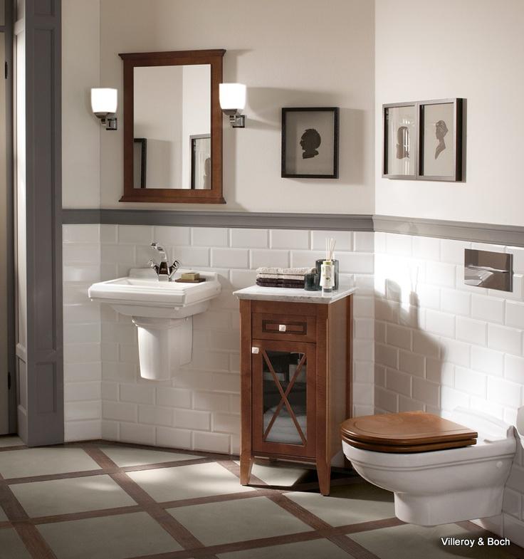 23 best Landelijke badkamers images on Pinterest Bathroom - villeroy und boch badezimmerm bel