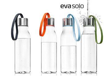 見て美しく,使って楽しく機能的、シンプルでモダンなデンマーク北欧デザインを代表するキッチンブランド eva solo(エバソロ)の「ドリンキングボトル」。